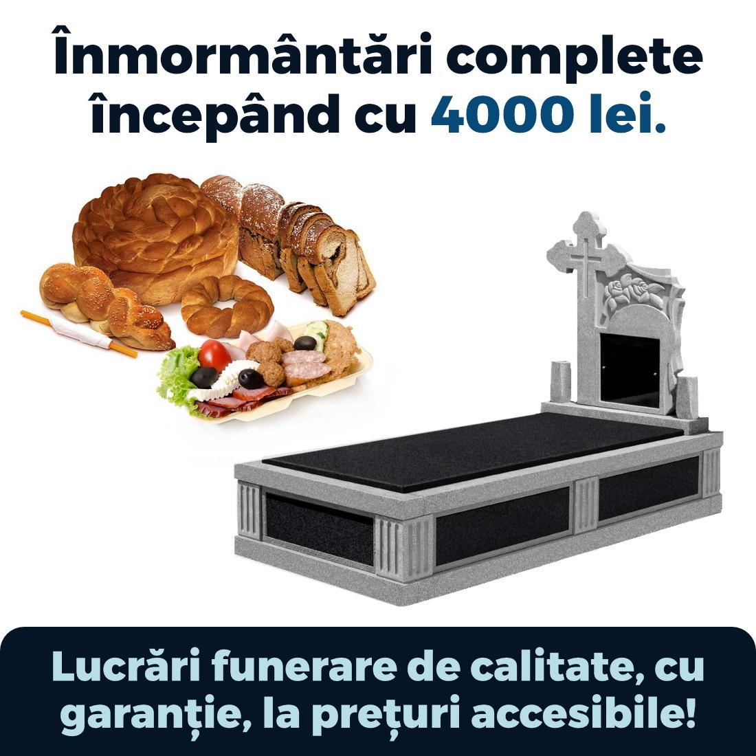 inmormantari complete incepand cu 4000 lei